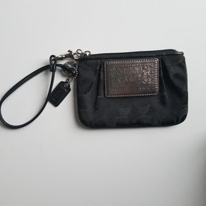 Coach Poppy wristlet. Great condition